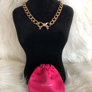 Juicy Couture Bow Chain Necklace